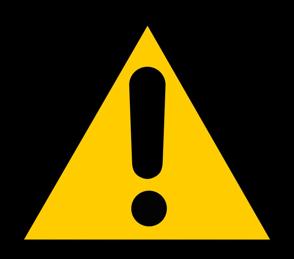 注意 危険 警告