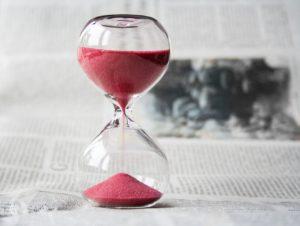 時間 時計 砂時計